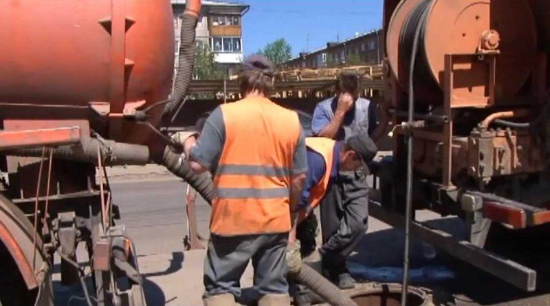 Ревизия городской ливневой канализации