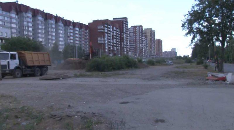 Реконструкция объездной дороги в Ново-Ленино